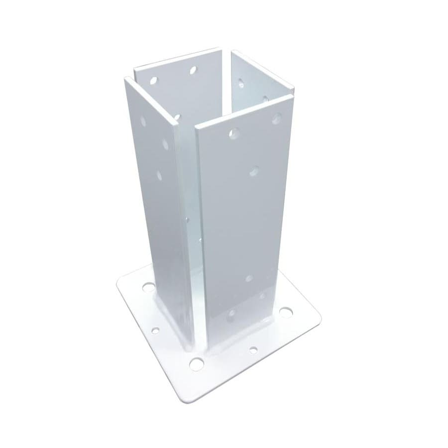 Suncast 7.313-in W x 7.625-in L x 11.063-in H x White Steel Freestanding Pergola