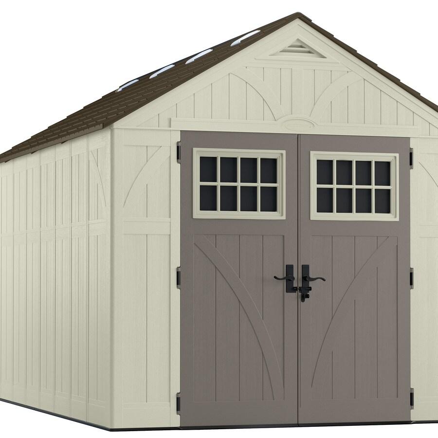 Suncast Tremont Gable Storage Shed (Common: 8-ft x 13-ft; Actual Interior Dimensions: 7.9-ft x 12.9-ft)