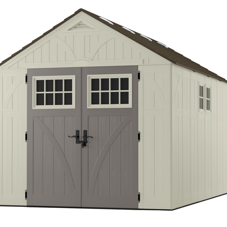 Shop Suncast Gable Storage Shed Common 8 Ft X 13 Ft