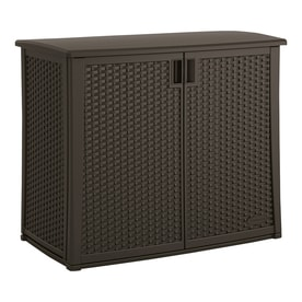 Suncast 23-in L x 42.5-in 97-Gallon Java Deck Box