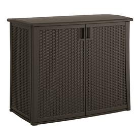 Suncast 23-in L x 42.5-in 97-Gallon Java Deck Box