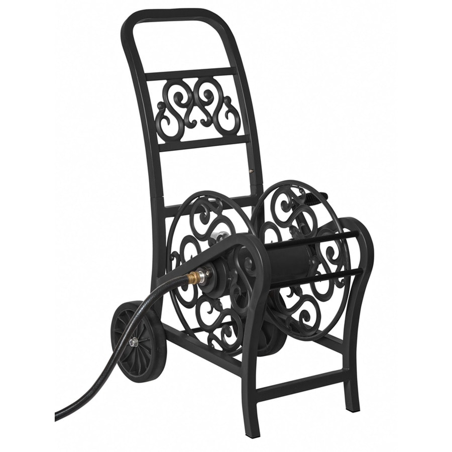 Suncast Steel 200-ft Cart Hose Reel  sc 1 st  Loweu0027s & Shop Suncast Steel 200-ft Cart Hose Reel at Lowes.com