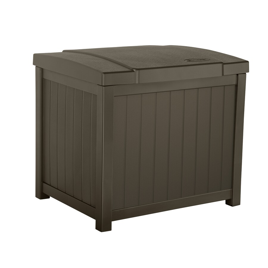 Suncast 18 In L X 22 5 In 22 Gallon Java Deck Box At Lowes Com