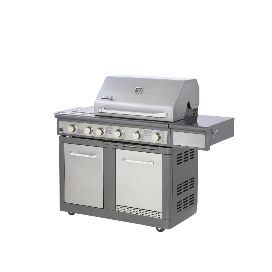 Nexgrill 5 Burner Dual Fuel Gas Grill W Refrigerator No Reviews