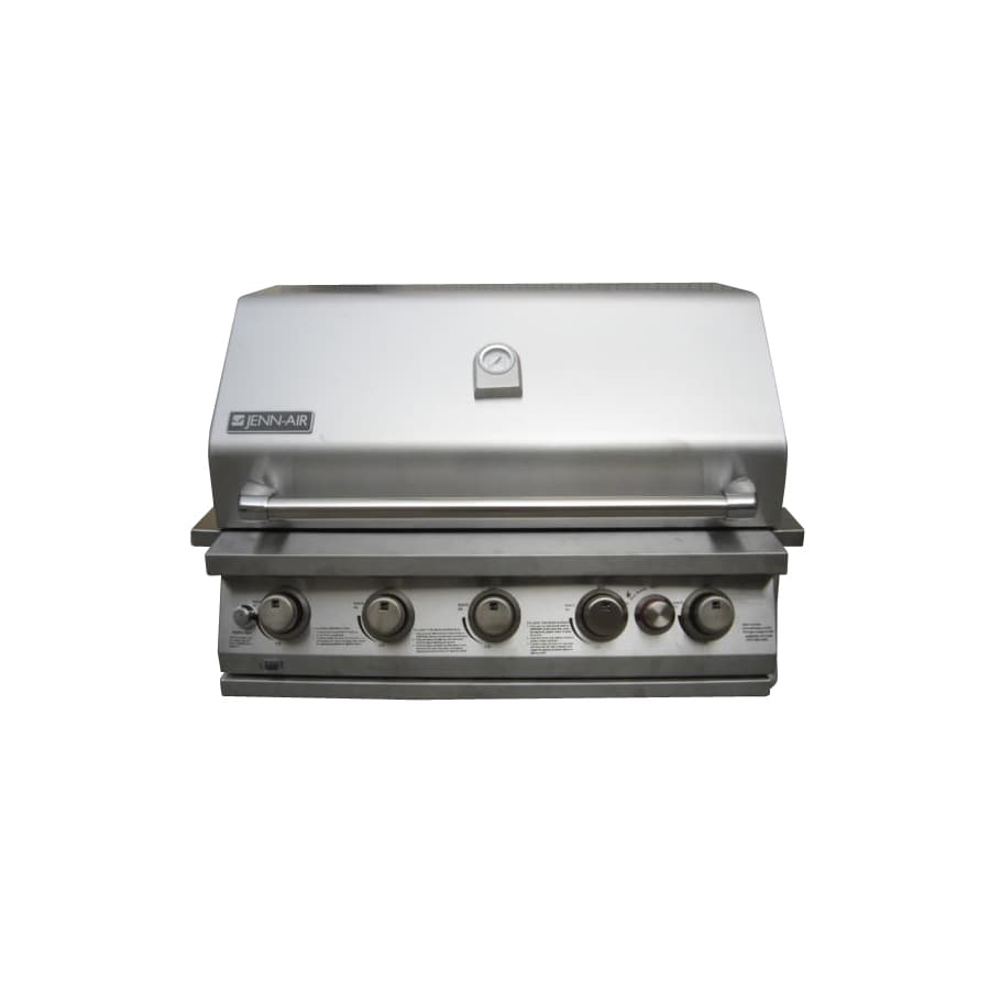 jenn air grill shop jenn air 5 burner 50000 btu liquid propane and 10645