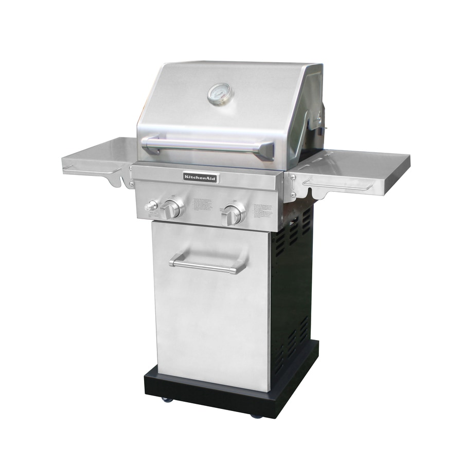 Shop KitchenAid 2 Burner 29 000 BTU Natural Gas Or Liquid Propane Gas Grill