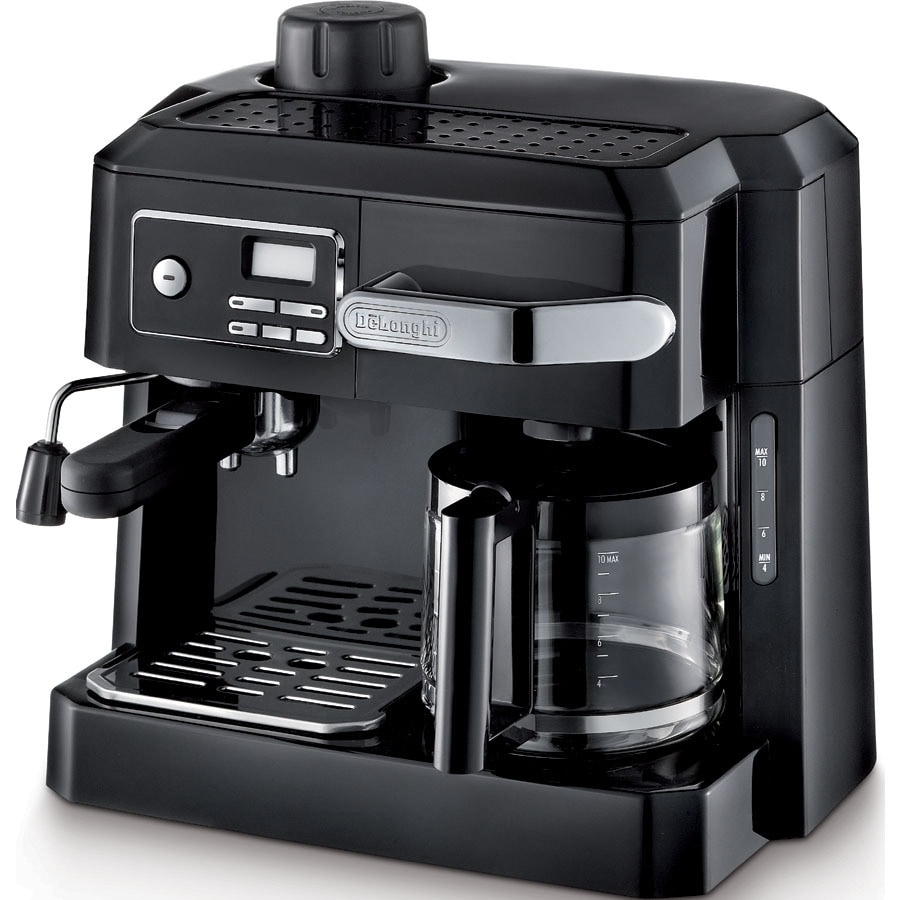De'Longhi 10-Cup Black Programmable Coffee Maker