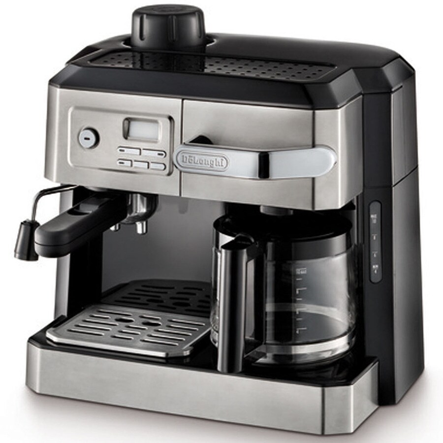 De'Longhi 10-Cup Stainless Steel Programmable Coffee Maker