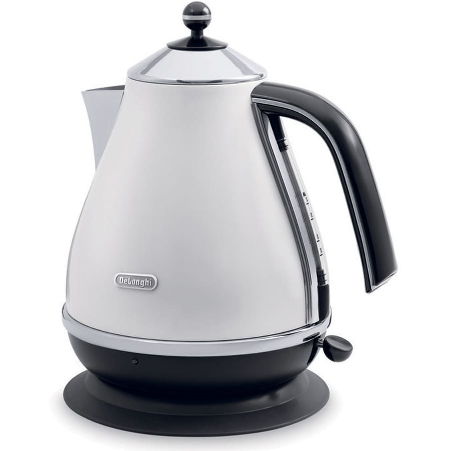 DeLonghi White 7-Cup Electric Tea Kettle