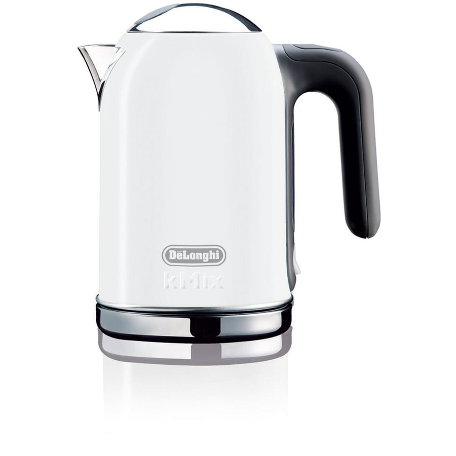 De'Longhi White 6-Cup Electric Tea Kettle