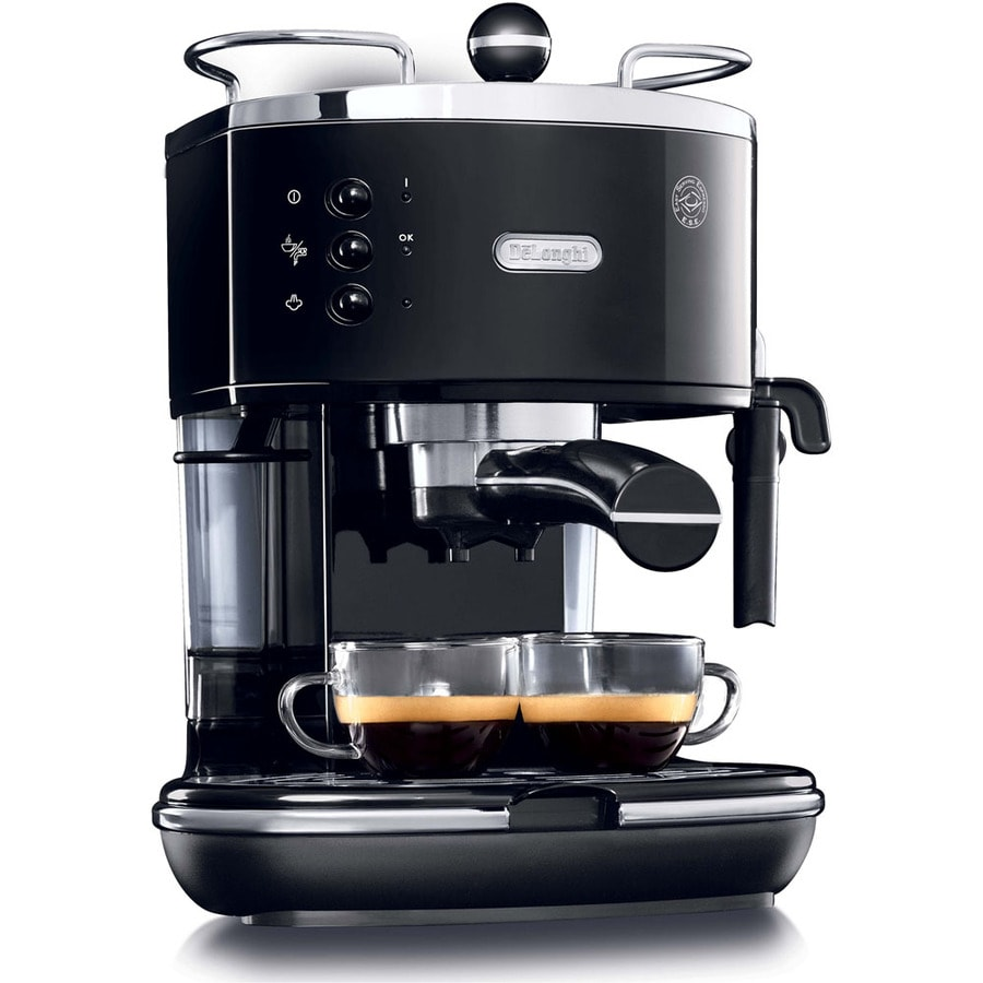 shop de 39 longhi stainless steel manual espresso machine at. Black Bedroom Furniture Sets. Home Design Ideas