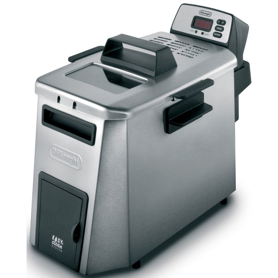 De'Longhi 4.23-Quart Dual Zone Deep Fryer