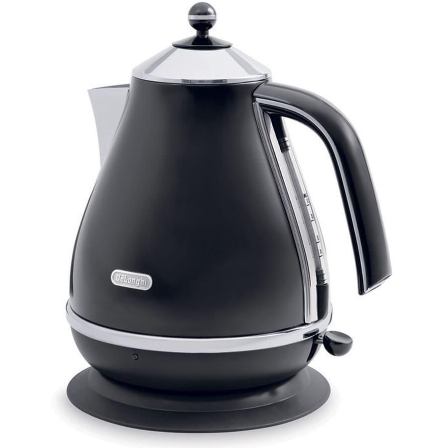 DeLonghi Black 7-Cup Electric Tea Kettle
