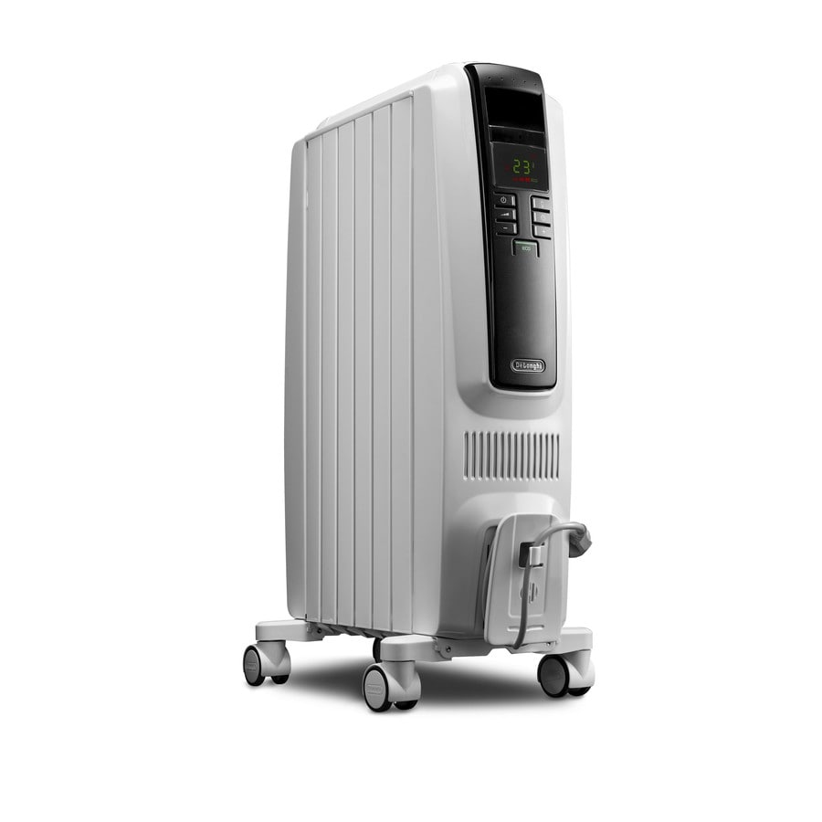 Shop De\'Longhi 1500-Watt Oil-filled Radiant Tower Electric Space ...