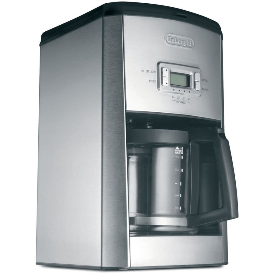 Shop De Longhi 14-Cup Stainless Steel Programmable Coffee Maker at Lowes.com