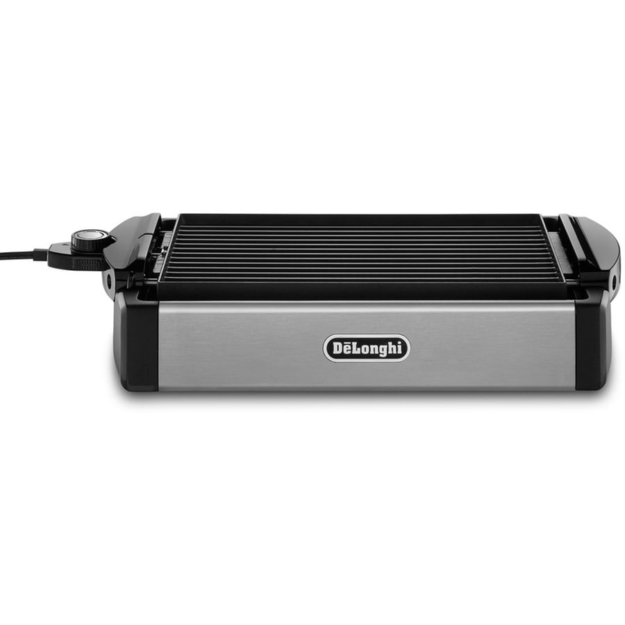 DeLonghi 9.4-in L x 14.9-in W 1,200-Watt Black Electric Griddle