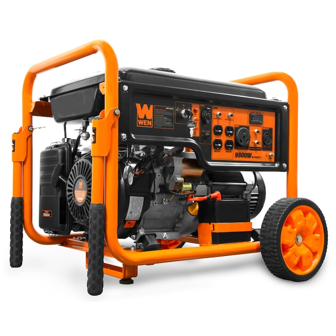 Wen 7500 Watt Gasoline Portable Generator With Oem Engine In The Portable Generators Department At Lowes Com
