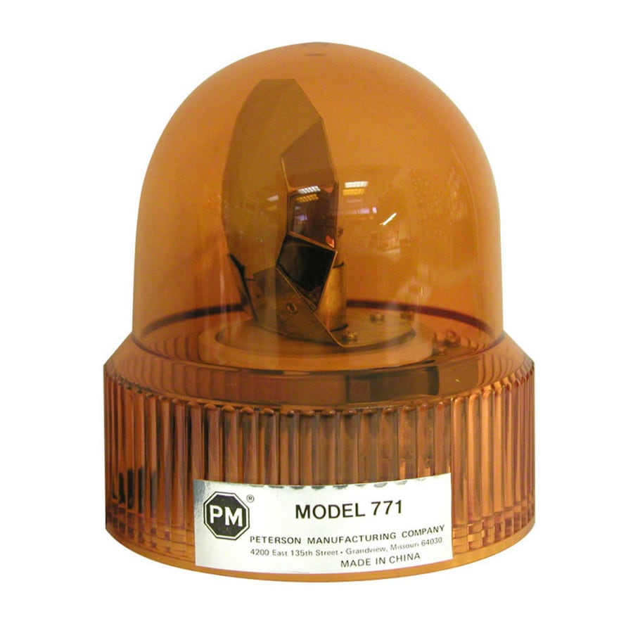 PETERSON Amber Beacon Revolving Light
