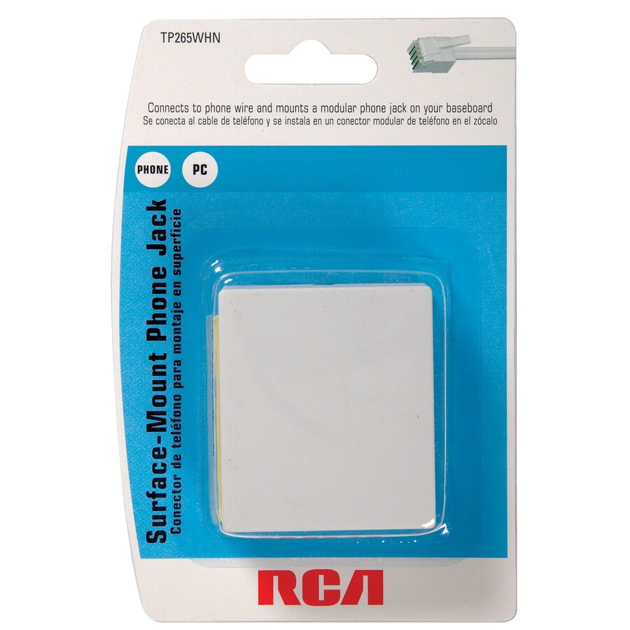 Shop RCA Rj14 Telephone Cable at Lowes.com