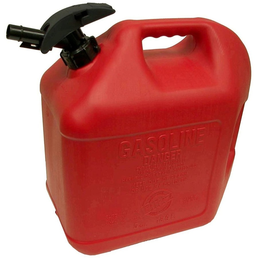 Plastic Gas Cans >> Blitz 5 Gallon Plastic Gasoline Can At Lowes Com
