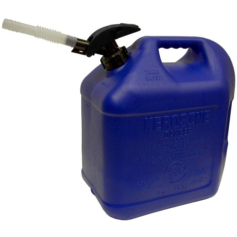 Blitz 5-Gallon Plastic Kerosene Can