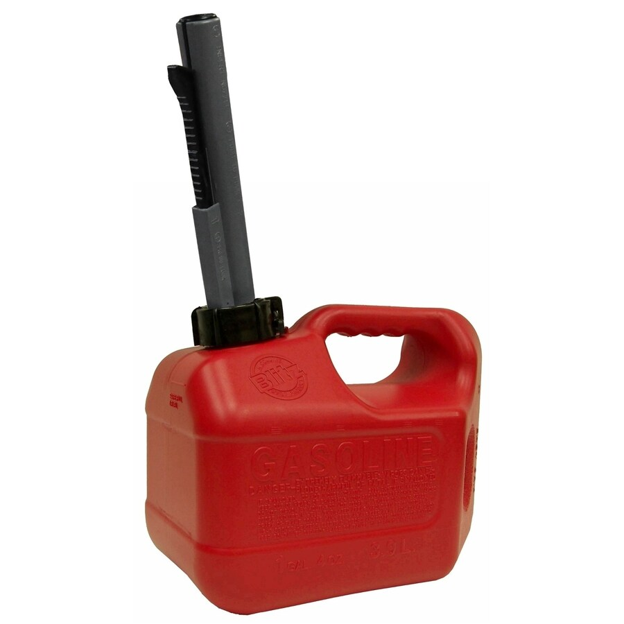 Blitz 1-Gallon Plastic Gasoline Can