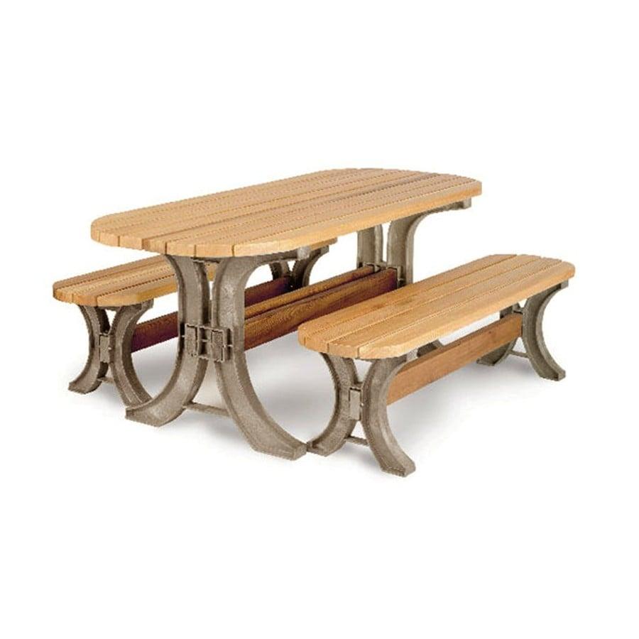 Blitz 2 X 4 Basics Picnic Table Kit At Lowes Com