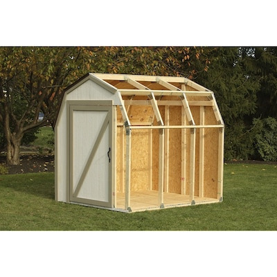 4 Basics Shed Kit Barn Roof At Lowes