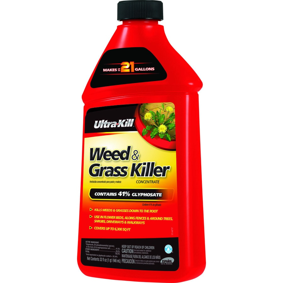 Ultra-Kill 32-fl oz Weed & Grass Killer Concentrate