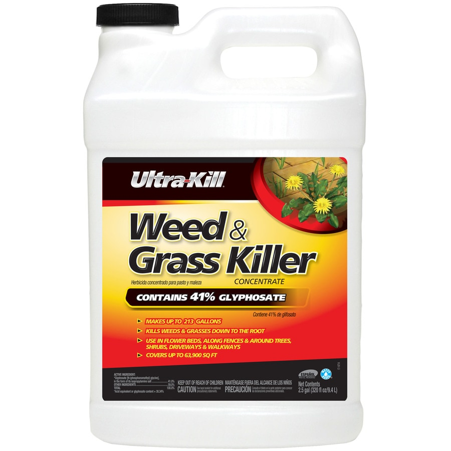 Ultra-Kill 320-fl oz Weed & Grass Killer Concentrate