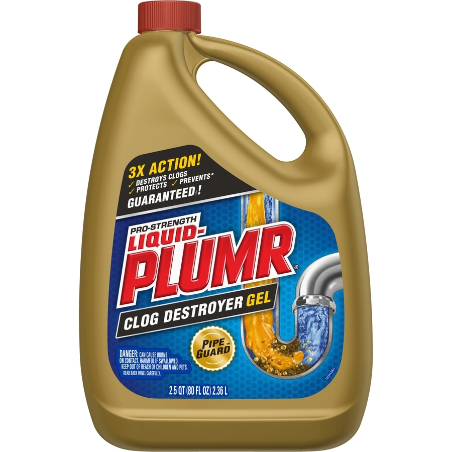 Liquid-Plumr 80-fl oz Drain Cleaner Pour Bottle