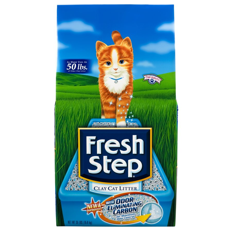 Fresh Step 35-lbs Clay Cat Litter