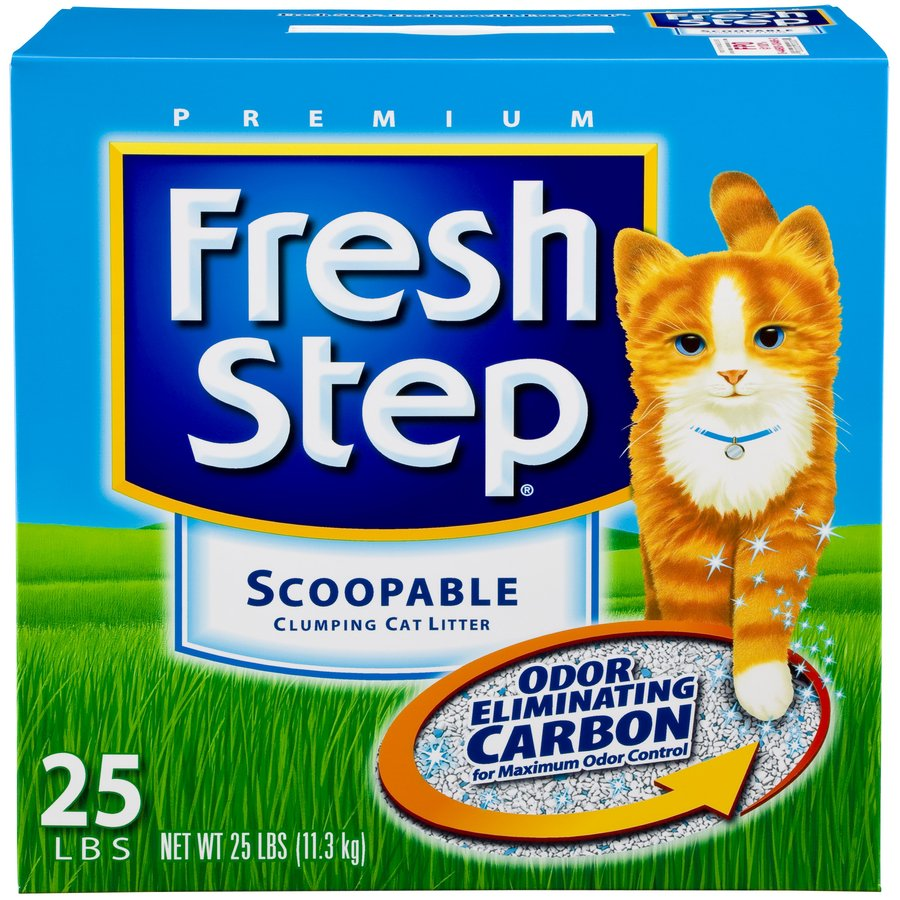 Fresh Step 25-lbs Clay Cat Litter