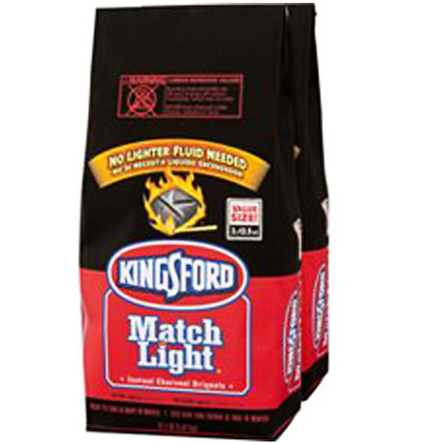Match Light 2-Pack 12.5-lb Charcoal Briquettes