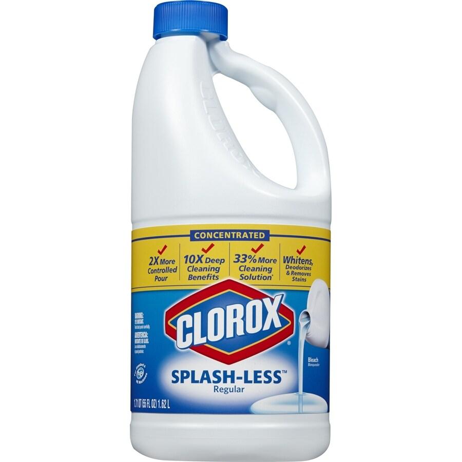 Clorox Splash-less 55-fl oz Household Bleach