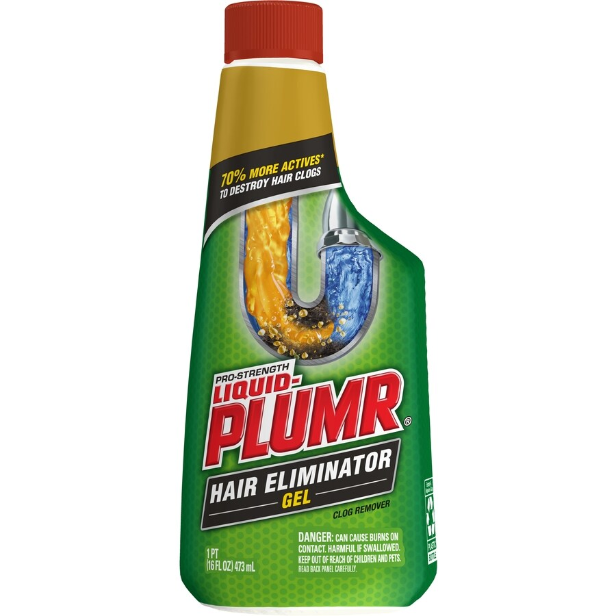 Liquid-Plumr 16-fl oz Drain Cleaner Pour Bottles