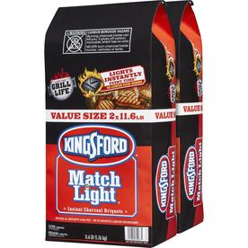 Kingsford Match Light 2-Pack 11.6-lb Charcoal Briquettes - Lowes Inventory Checker - BrickSeek