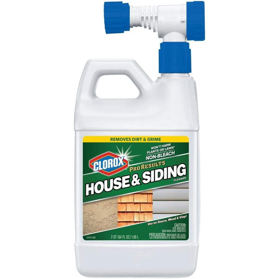 clorox house and siding 64 fl oz all purpose cleaner at lowes com