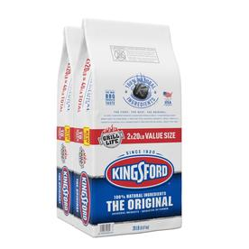 Kingsford Original Charcoal Briquettes, BBQ Charcoal for Grilling- 20 -lbs Each (Pack of 2)