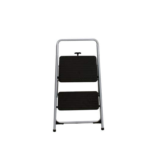 Wondrous Cosco 2 Step Steel Step Stool At Lowes Com Customarchery Wood Chair Design Ideas Customarcherynet