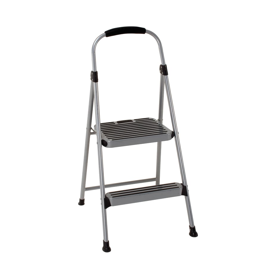 Metal Folding Step Stool Step Ladder Folding Stool 2 Step