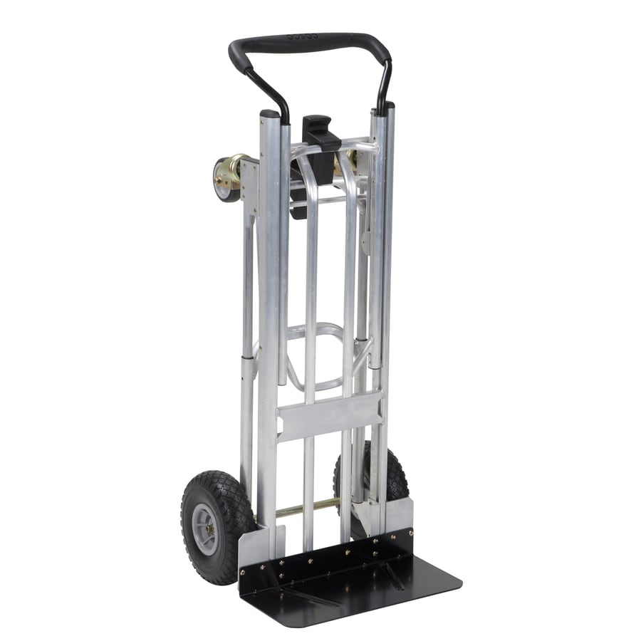 Cosco 800-lb Capacity Stainless Steel Steel Convertible Hand Truck