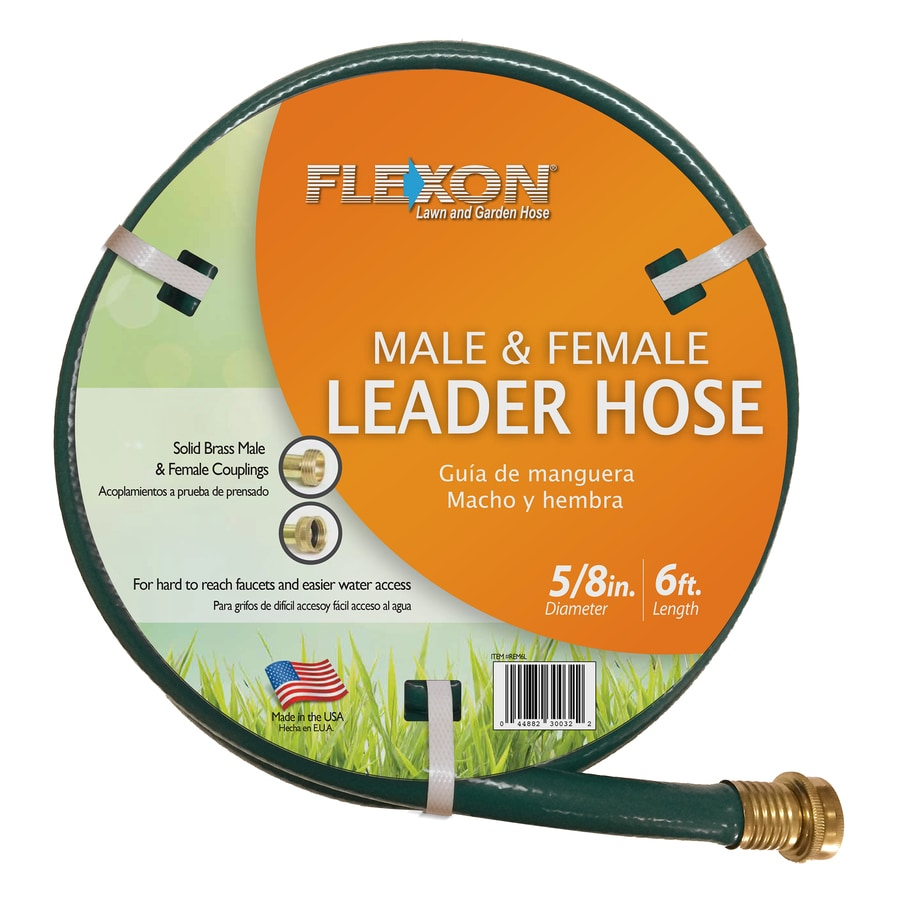 FLEXON 5/8 In X 6 Ft Light Vinyl Leader Hose
