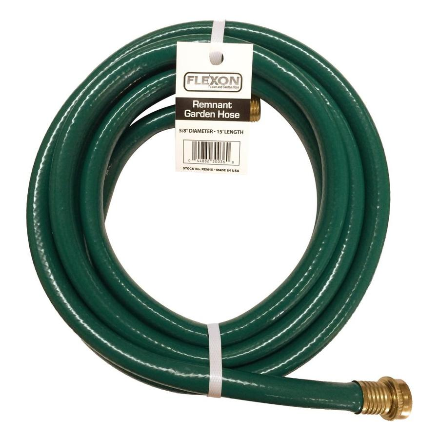 FLEXON 5/8-in x 15-ft Light-Duty Garden Hose