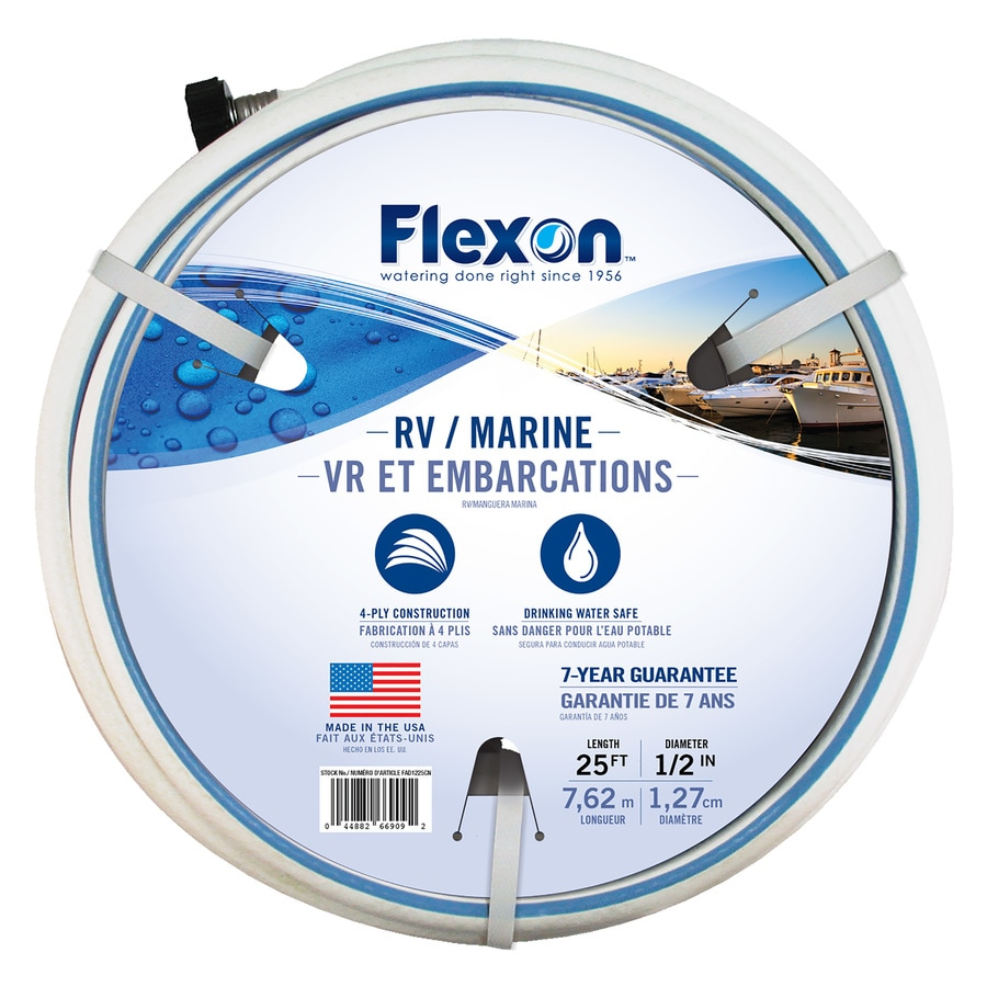 Marvelous FLEXON 1/2 In X 25 Ft Light Duty Garden Hose