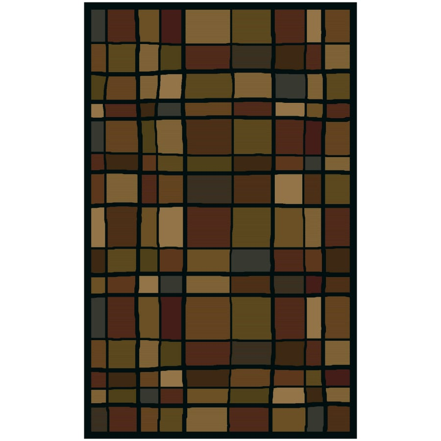 Shaw Living Scrabble Rectangular Tufted Throw Rug (Common: 2 x 4; Actual: 24-in W x 40-in L)