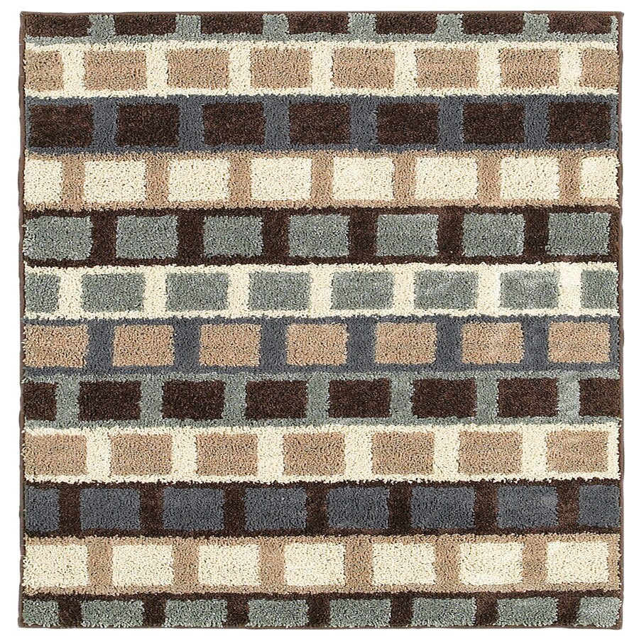 Style Selections San Pedro Rectangular Indoor Tufted Throw Rug (Common: 2 x 4; Actual: 45-in W x 27-in L)