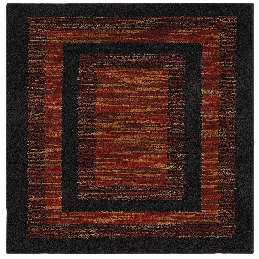 Style Selections Barstow Rectangular Indoor Tufted Throw Rug (Common: 2 x 4; Actual: 45-in W x 27-in L)
