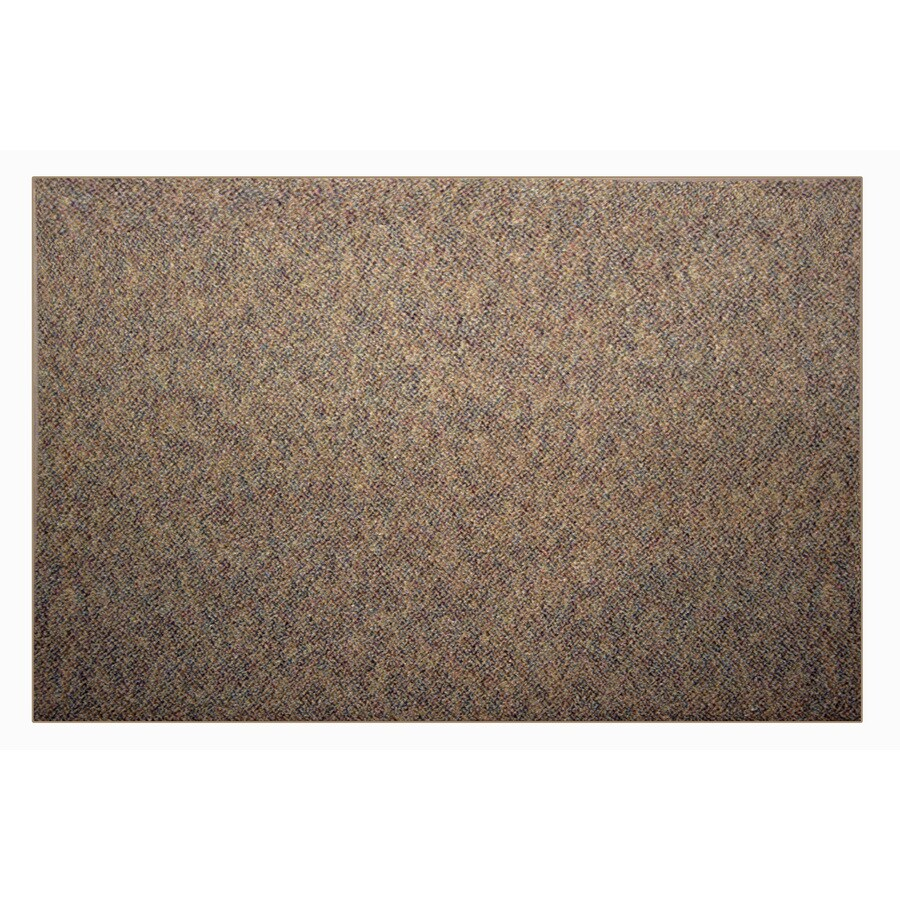 Nance Nance Carpet Brown Rectangular Indoor/Outdoor Tufted Area Rug (Common: 4 x 6; Actual: 48-in W x 72-in L)