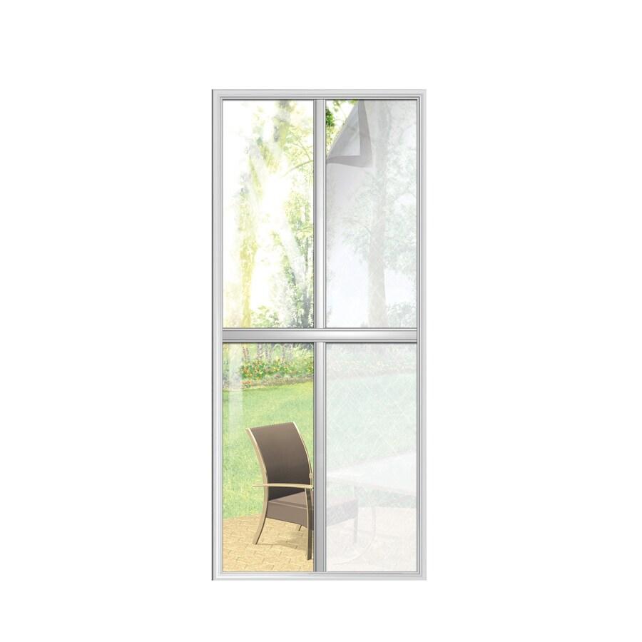 Bathroom Window Privacy Film Lowes: Shop GILA 36-in W X 78-in L Fiberglass Privacy/Decorative